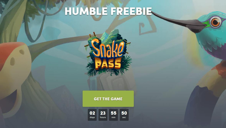 Humble Bundle免费领steam《Snake Pass》