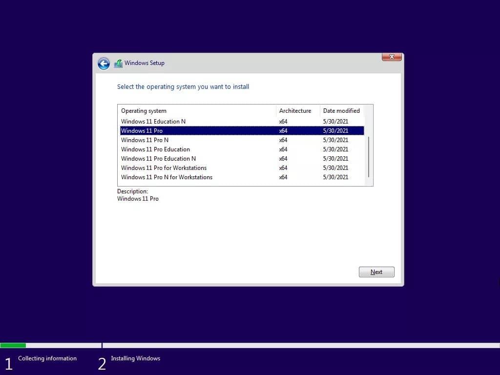 Windows11 v21996.1.210529 测试版泄露